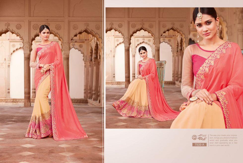 Palav Fabric Designer Saree PP7509A