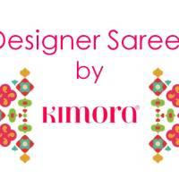 Kimora Sunehri Heavy Embroidery Sarees @ArtistryC