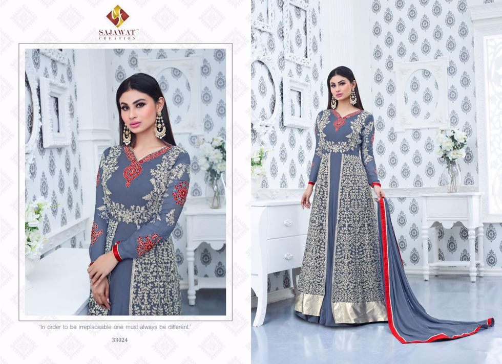 Sajawat Nagin Vol 3 Designer Suits 33024