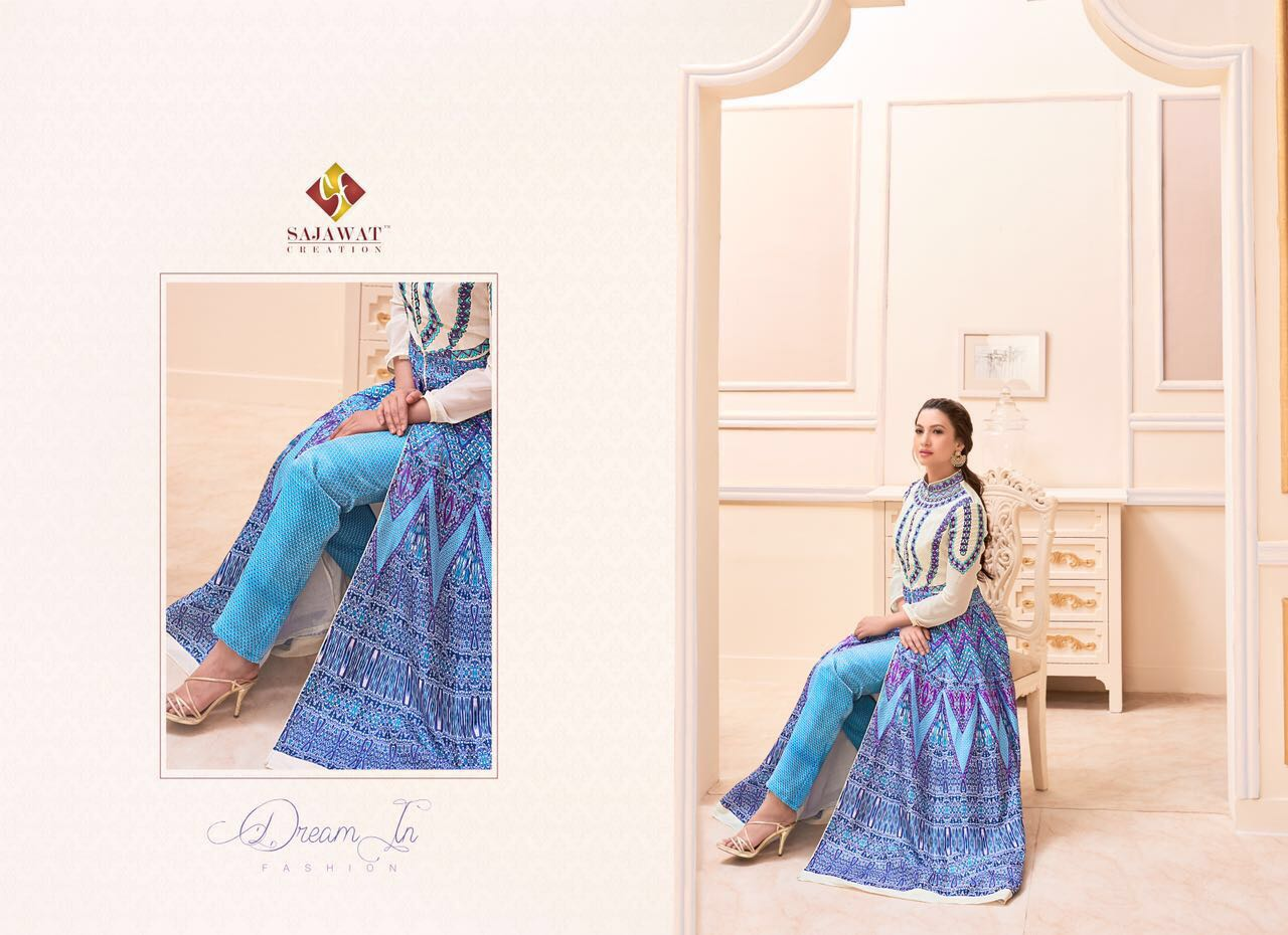 Gauhar vol 1 Floor length Salwar Kameez 2101A