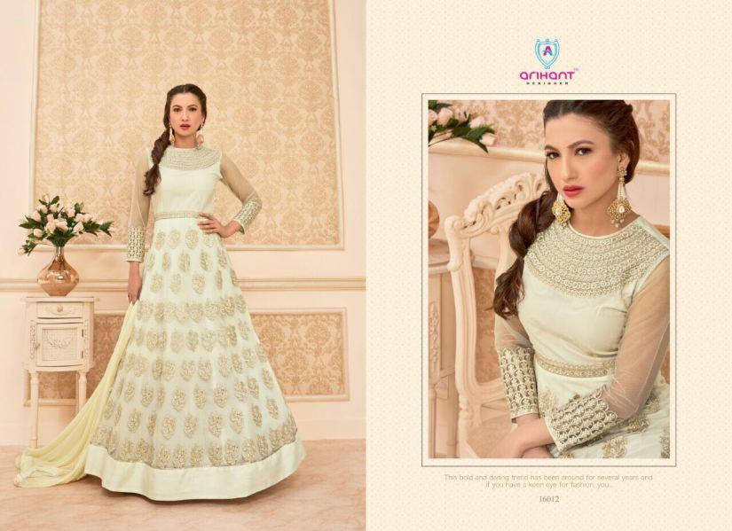 Hamim vol 7nx Floor length Salwar Kameez by Arihant Designer 16012