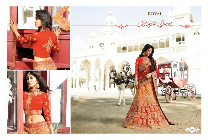 Royal Lehenga choli for wedding 13047 | Indian Bridal Wear