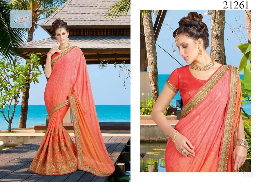 Shravi Heavy embroidery Saree 21261