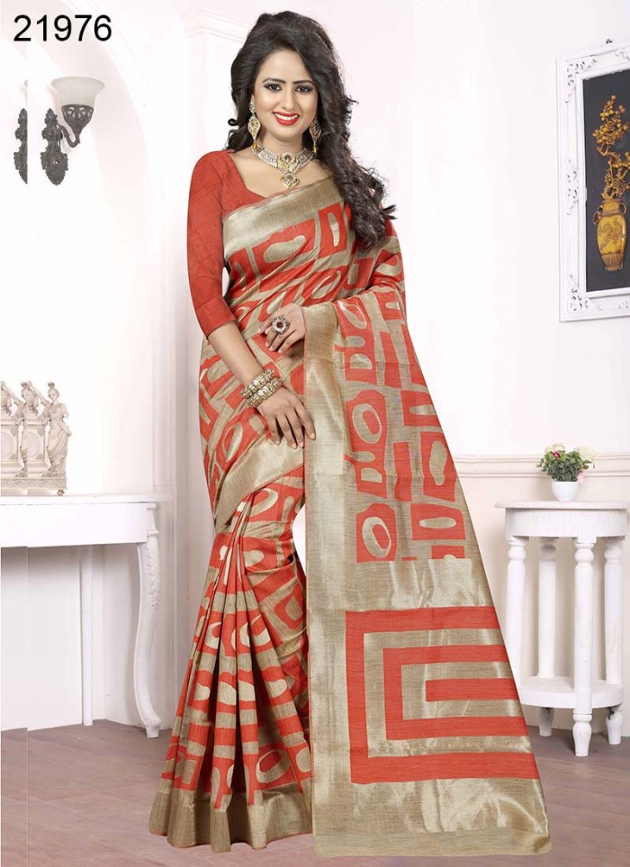 Banarasi Silk Narissa 21976 | Occassional Wear for Ladies