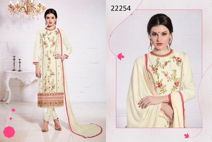 Glace Cotton Dress Material Talisa 22254 Ramdan Special