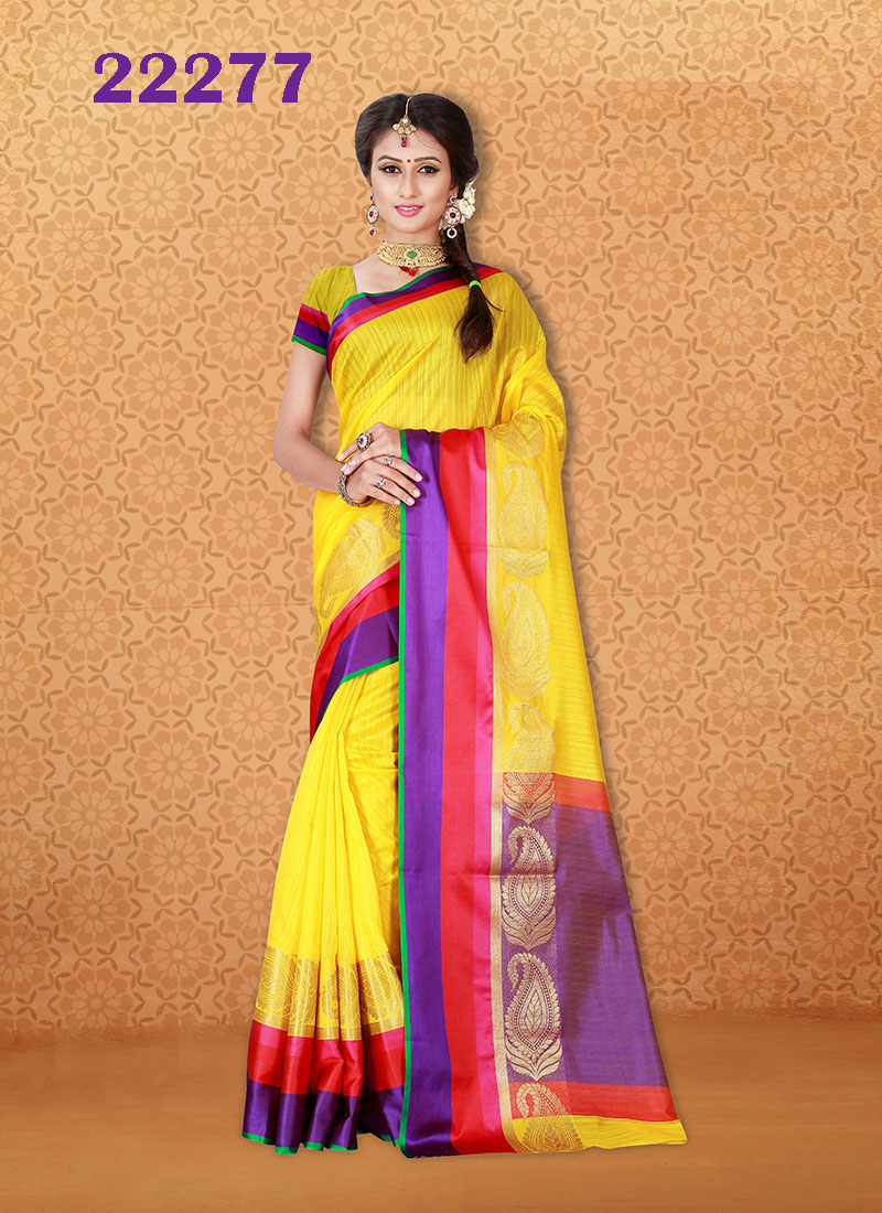 Kanjivaram Sarees Chennai Express v7 22277 | Bride Special