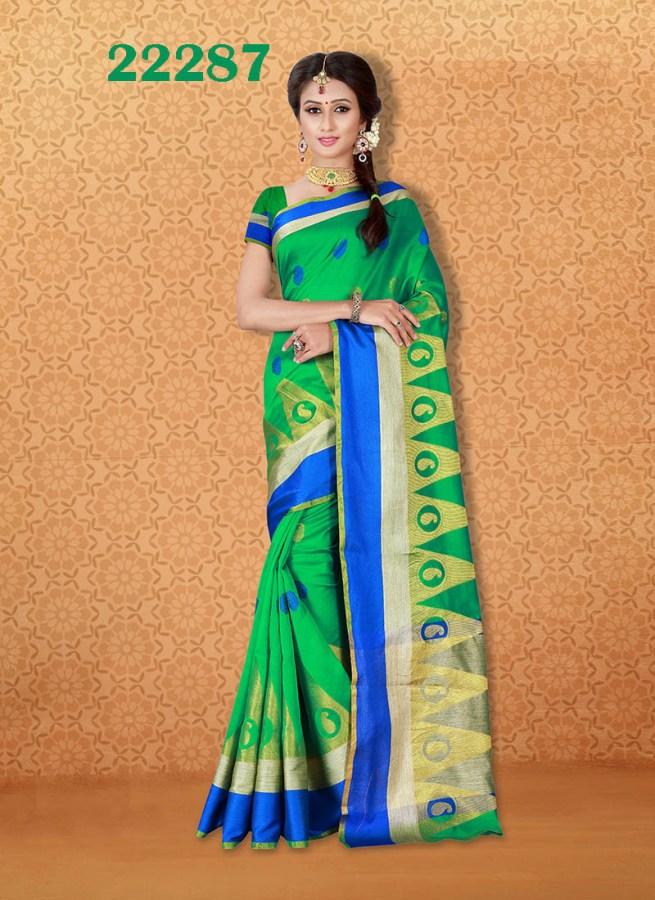 Kanjivaram Sarees Chennai Express v7 22287   Bride Special