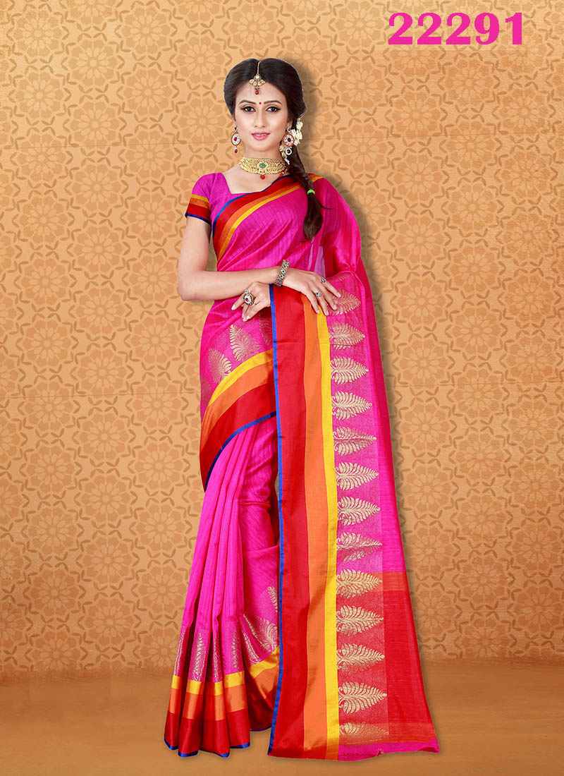 Kanjivaram Sarees Chennai Express v7 22291