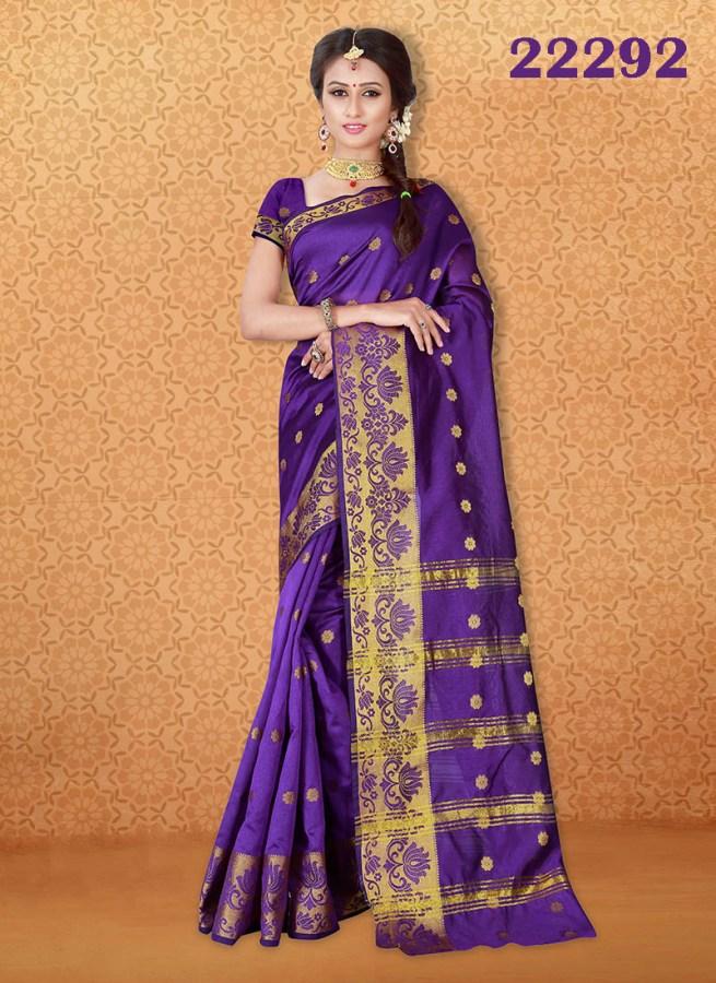 Kanjivaram Sarees Chennai Express v7 22292 | Bride Special