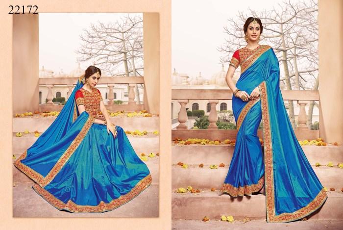 Newly Wedded Bridal Saree Dania 22172 | Bride Special