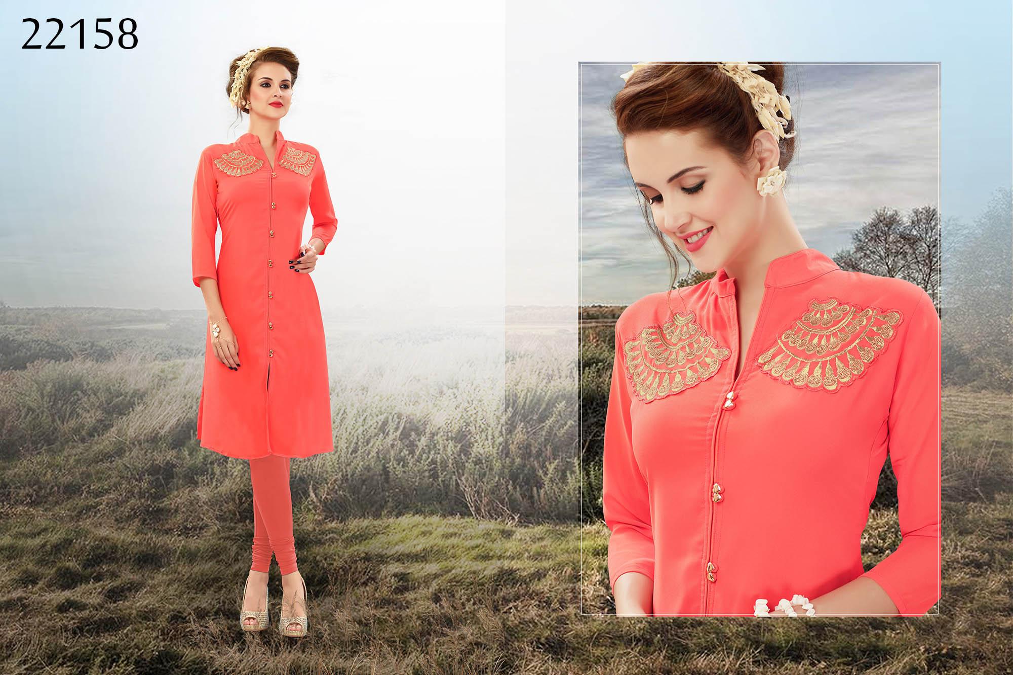 Richa Western Kurti cum top 22158   Daily Wear for Ladies