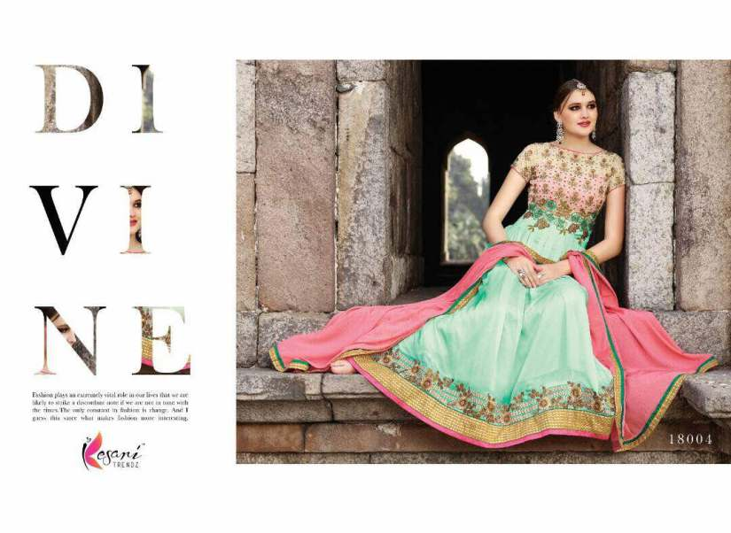 Aariya Floor Length Anarkali Suits 18000