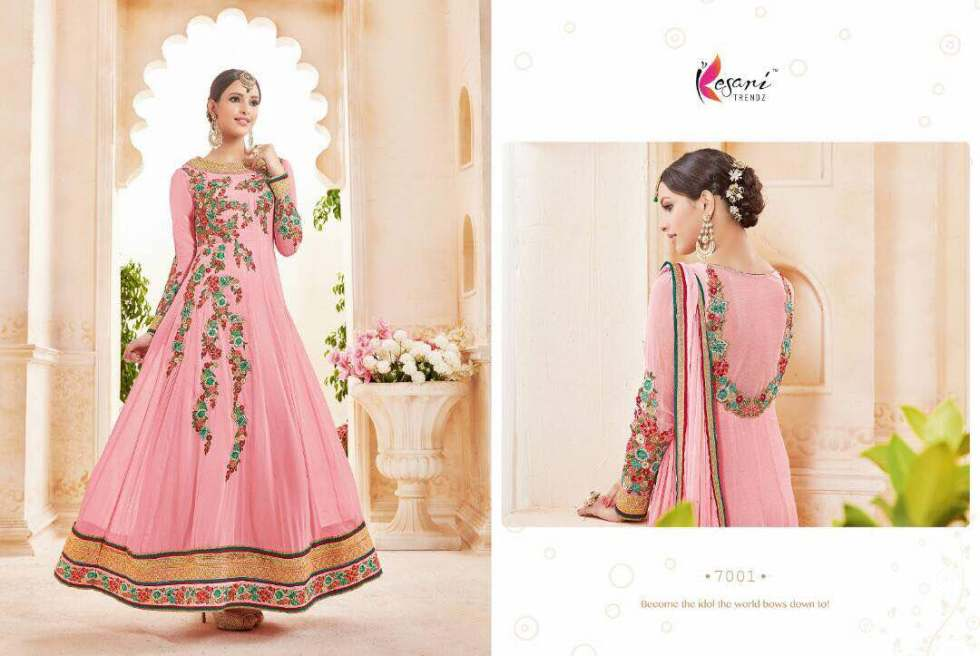 Kyra Floor Length Anarkali Suits 7001 B