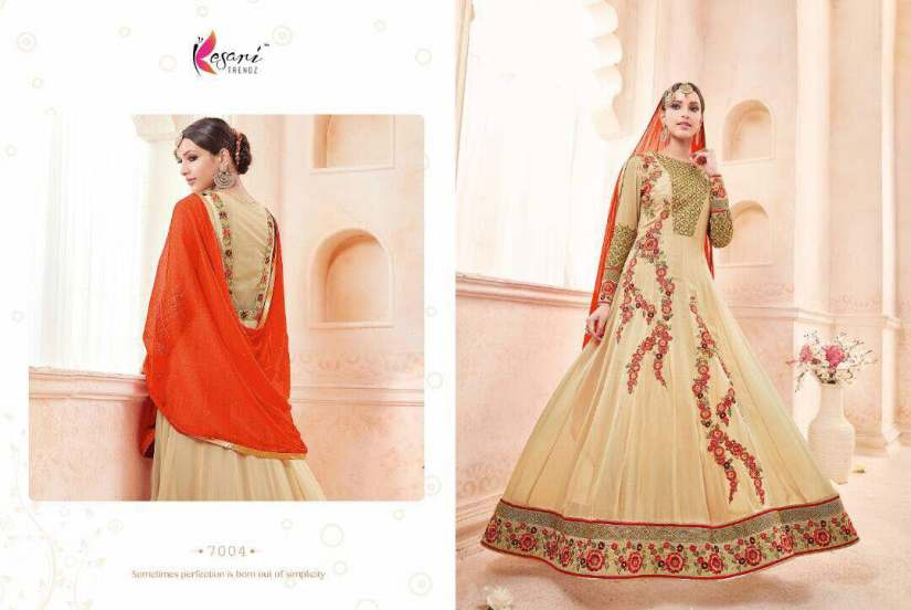 Kyra Floor Length Anarkali Suits 7004 B