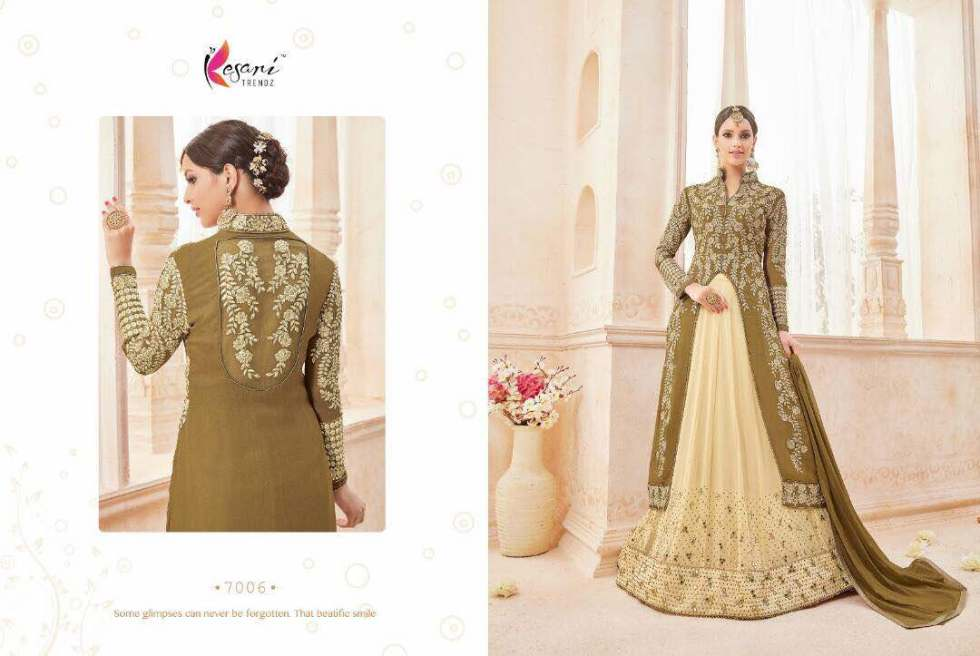 Kyra Floor Length Anarkali Suits 7006 B