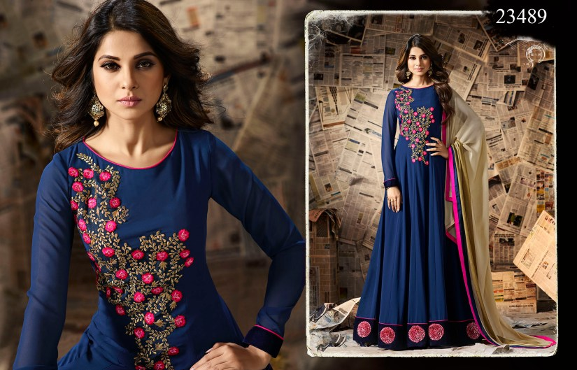 Mugdha Ethnic Touch Designer Party Wear Dresses 23489