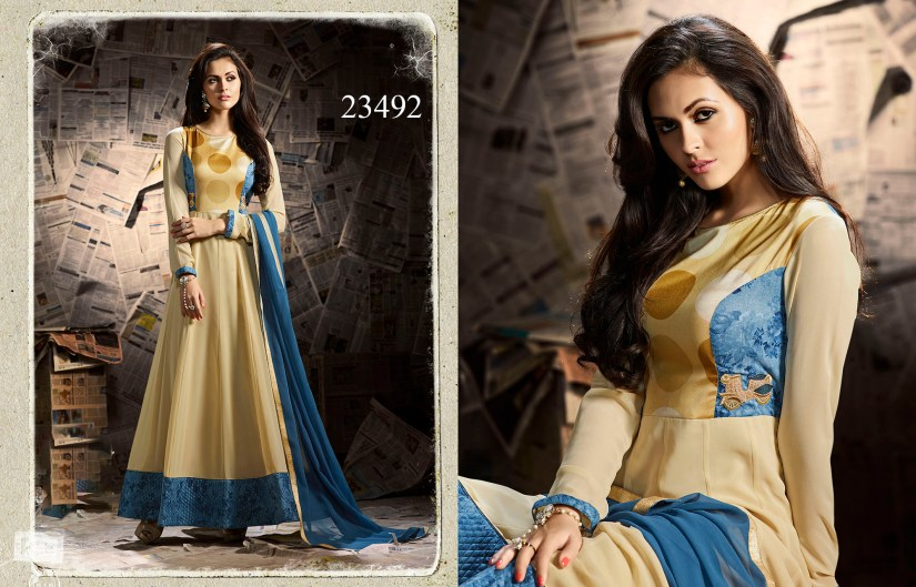 Mugdha Ethnic Touch Designer Party Wear Dresses 23492