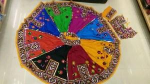 Kutchi Traditional Gamthi work Chaniya Choli Style C