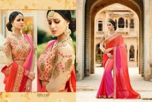 Royal Designer Sarees Code Sakshi 1128