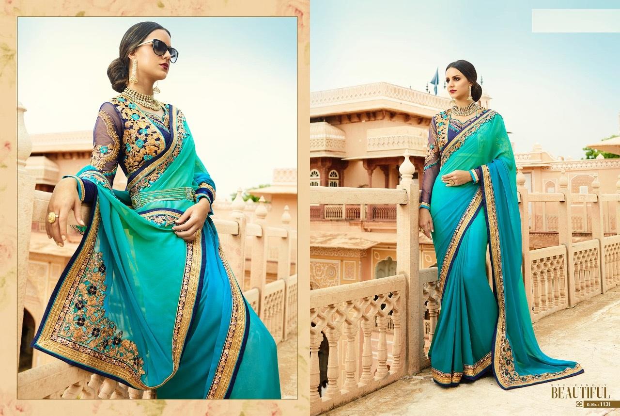 Royal Designer Sarees Code Sakshi 1131