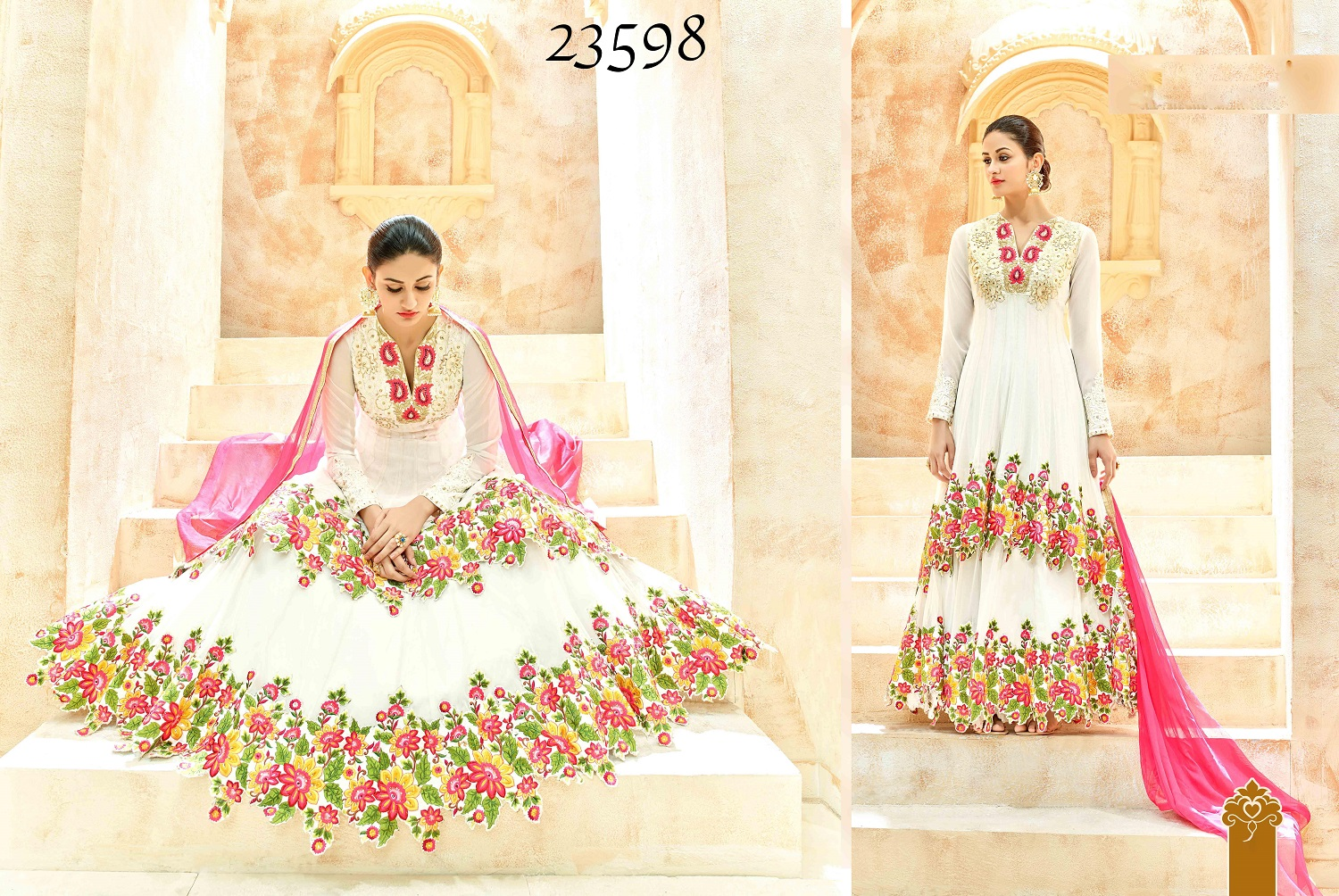 Shaleena Bridal Wedding Anarkali Suits 23598