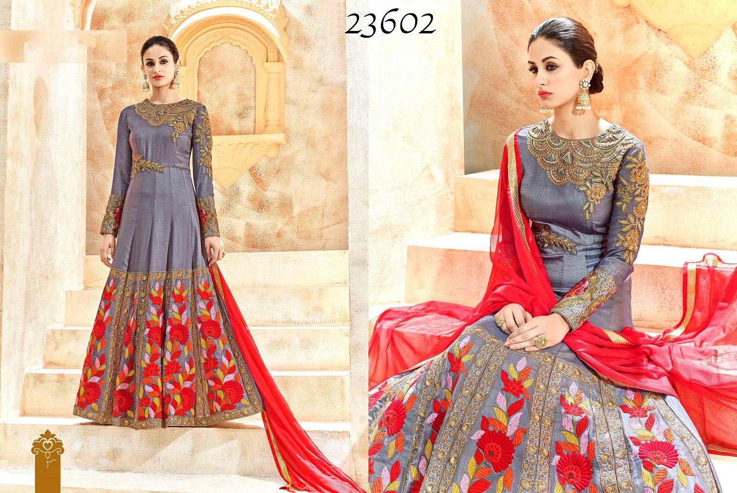 Shaleena Bridal Wedding Anarkali Suits 23602