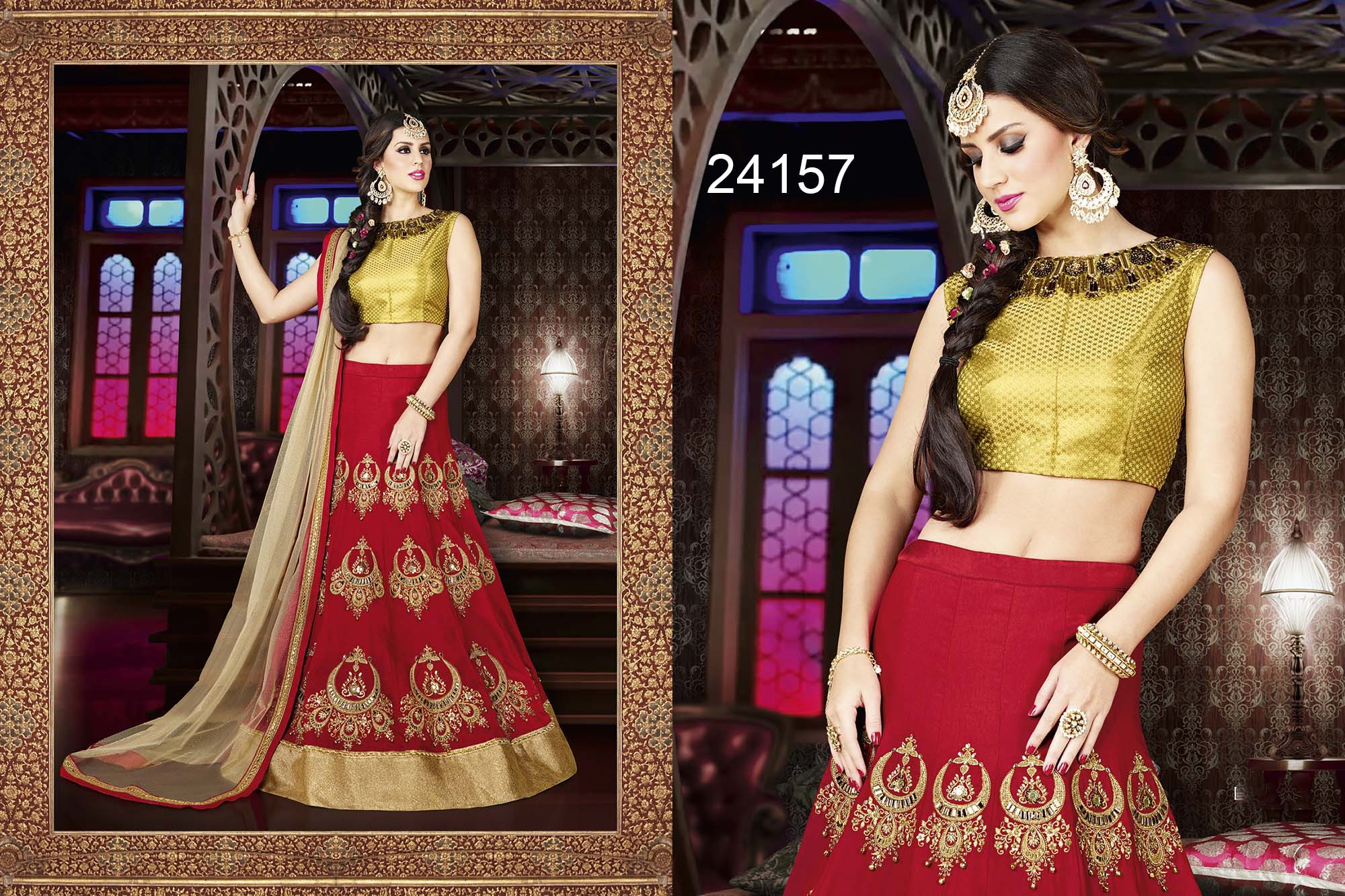 Creation Gold Designer Lehenga