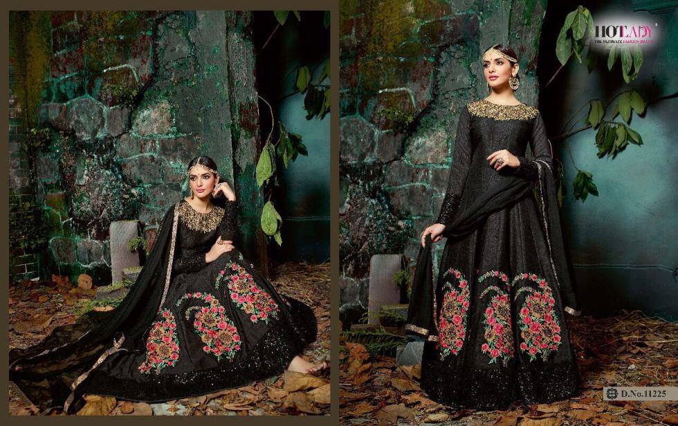 Hotlady Maheera Anarkali suits 11225