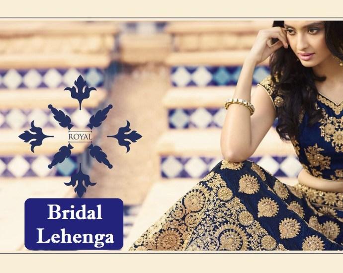 Royal Bridal Lehenga Design