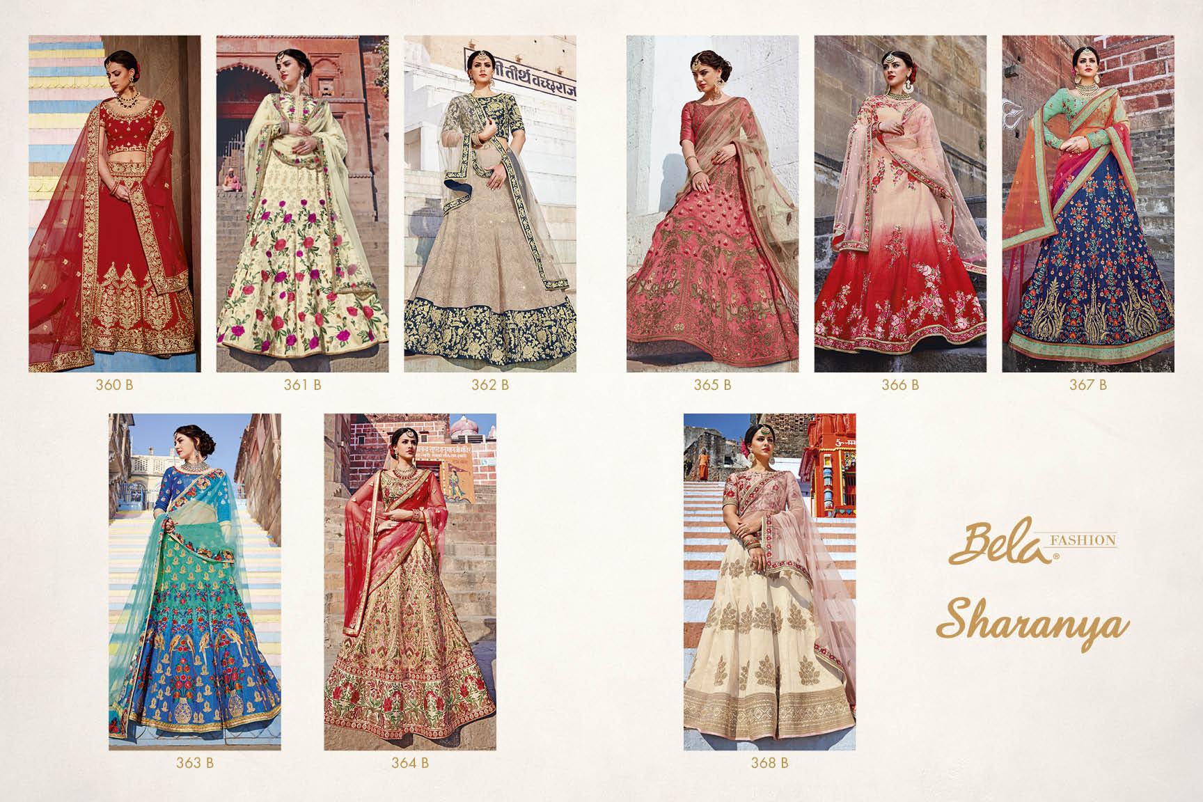 Shop Bela Fashion's Sharanya Bridal Lehenga Online