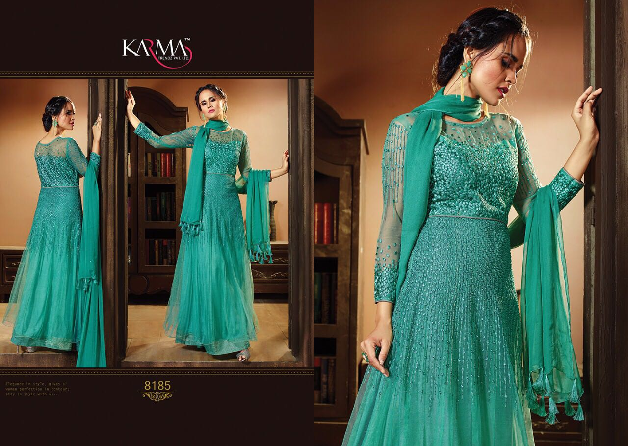 Karma Mother U0026 Daughter Designer Salwar Suits