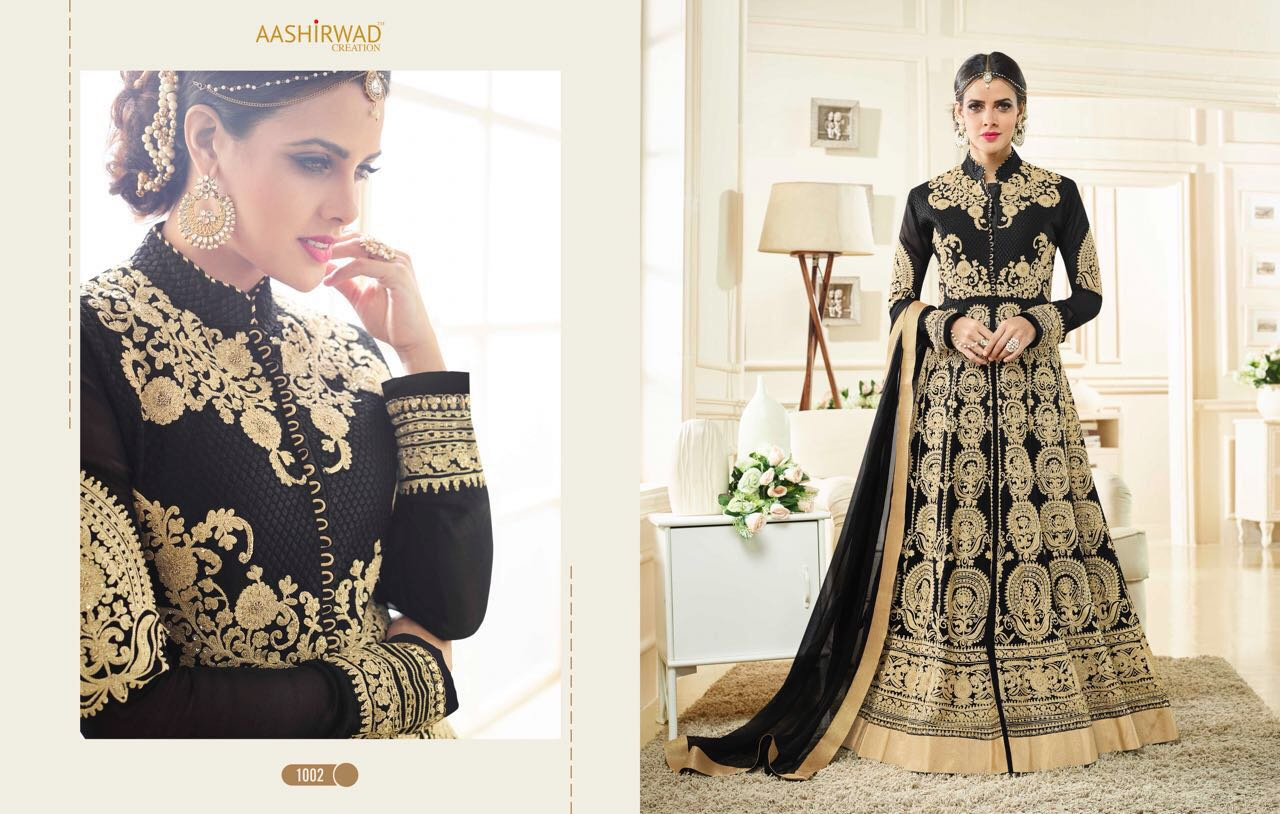 AAshirwad Creation presents Simran Floor Length Anarkali Suits