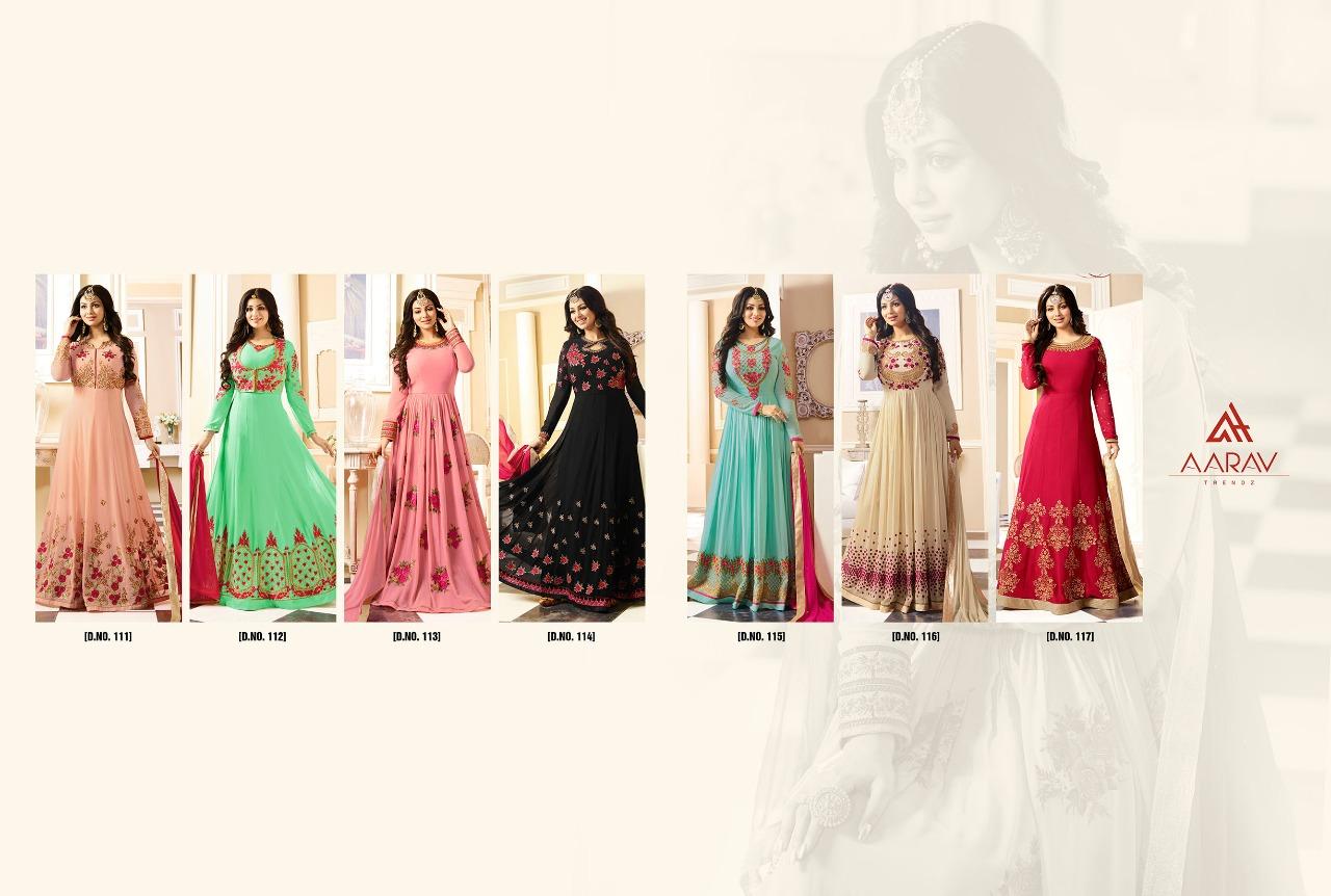 efe7919f2f433d Aarav Trends Designer Anarkali Suit