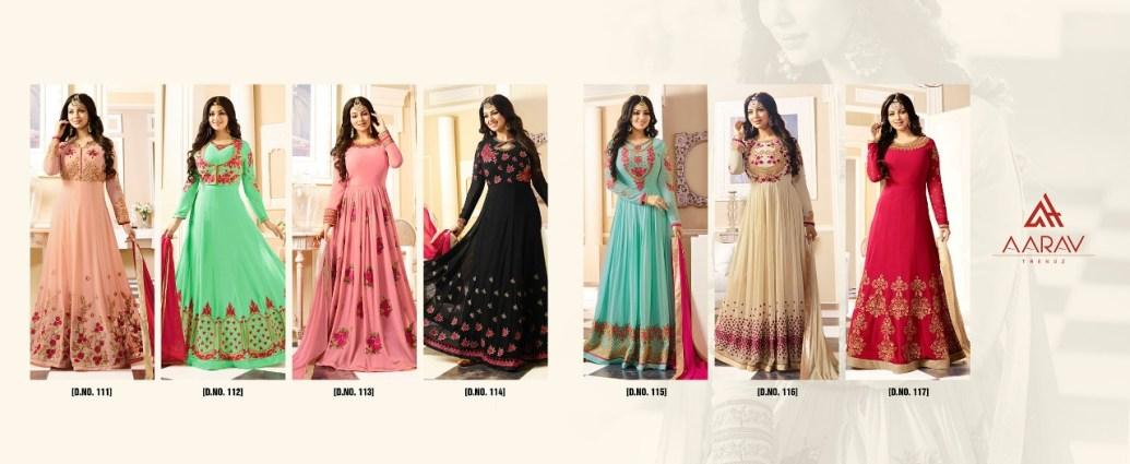Aarav Trends Designer Anarkali Suit