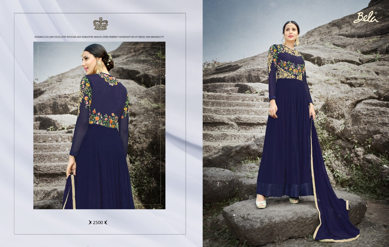 Mahzabeen Latest Party Wear Designer Anarkali Suits