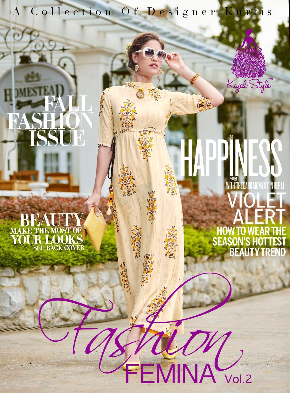 Fashion Femina Vol 2 Designer Anarkali Kurtis