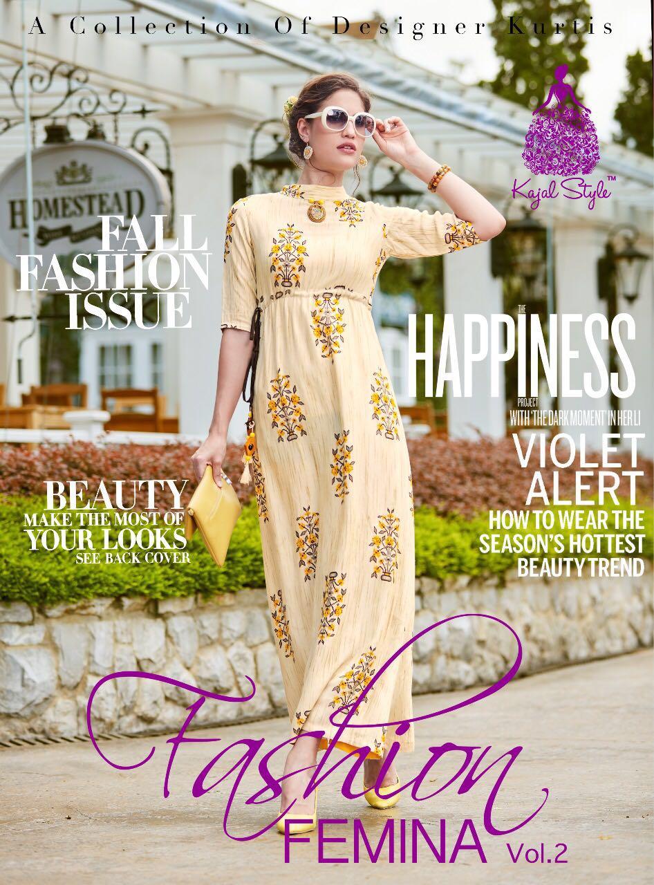 Fashion Femina Vol 2 Designer Anarkali Kurtis