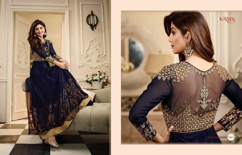 Karma Shilpa Shetty Kali Indo Western Dresses for Ladies