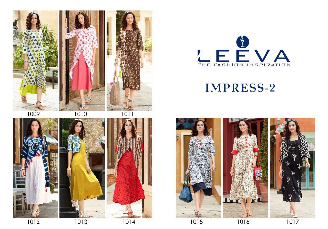 Liva Impress 2 indo western kurti