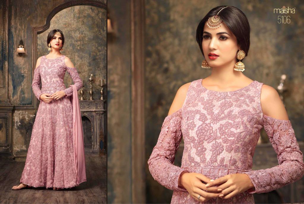 Maisha Jawariya Floor Length Anarkali Suits