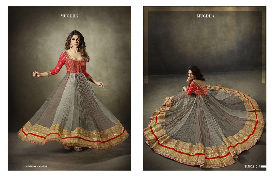 Mugdha Premium DK Label Designer Anarkali Suits
