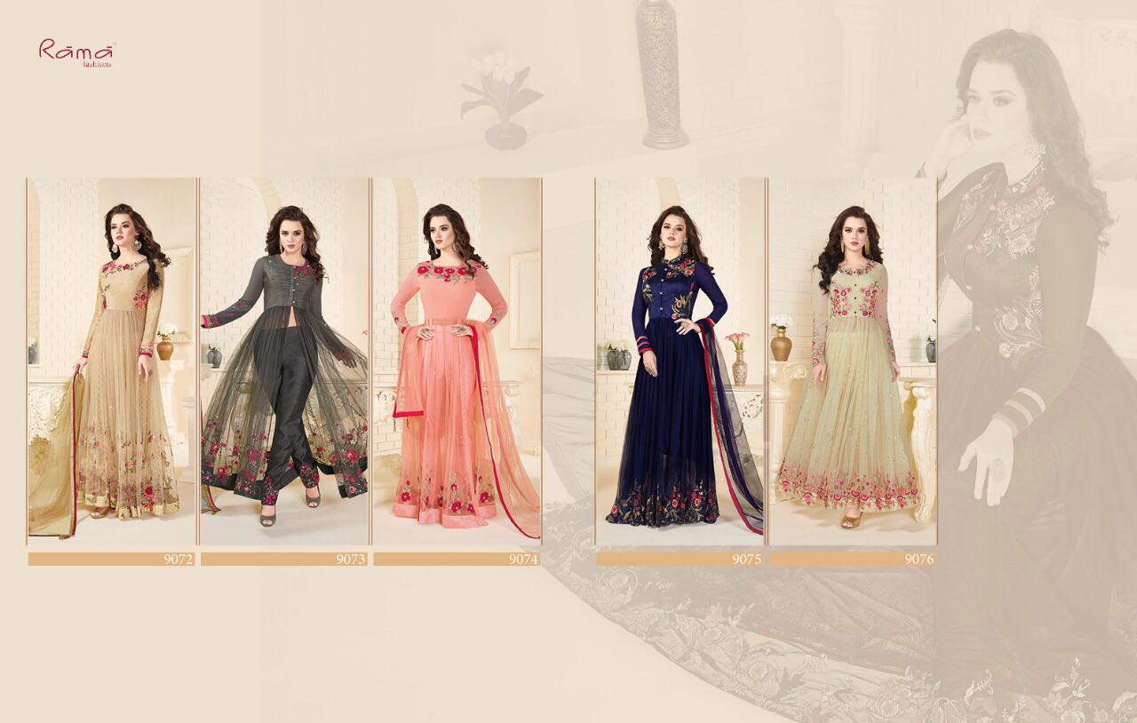 Shop Naaz Front open styled Designer Anarkali Suits Online