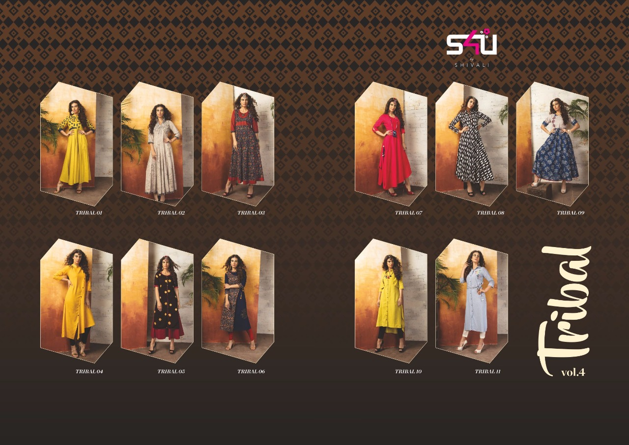 Shop S4U Tribal Vol 4 Western Dresses Online