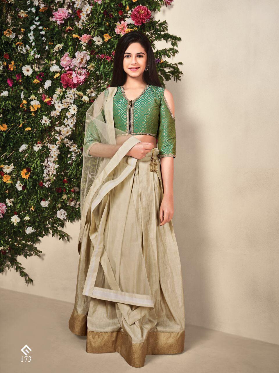 Wedding Lehenga Blouse Choli for Girl