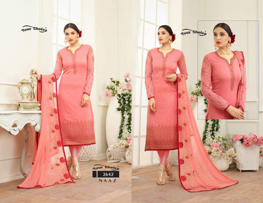 Your Choice Naaz Churidar Suits Online