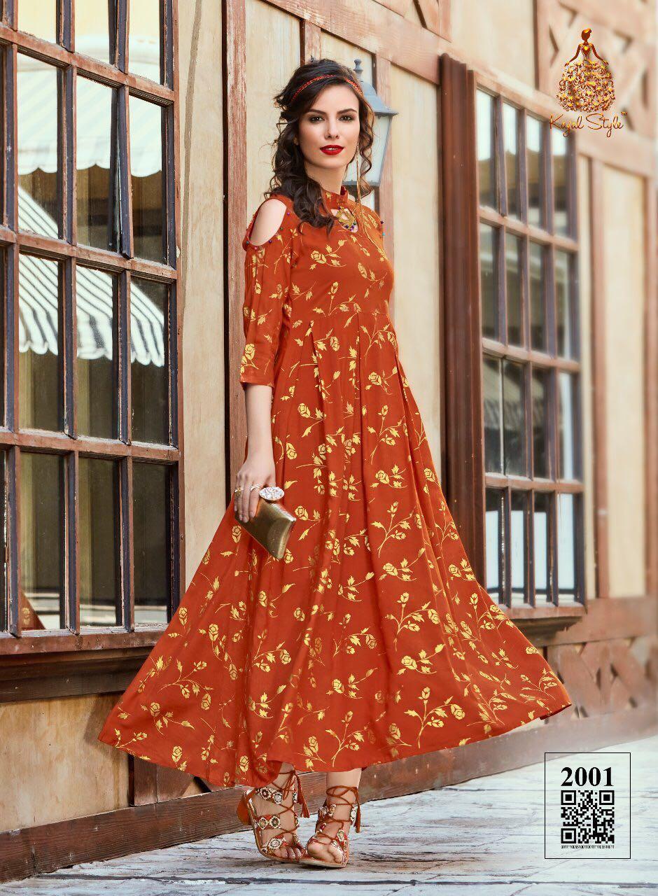 Kajal Style D.I.V.A Vol-2 Western Dresses