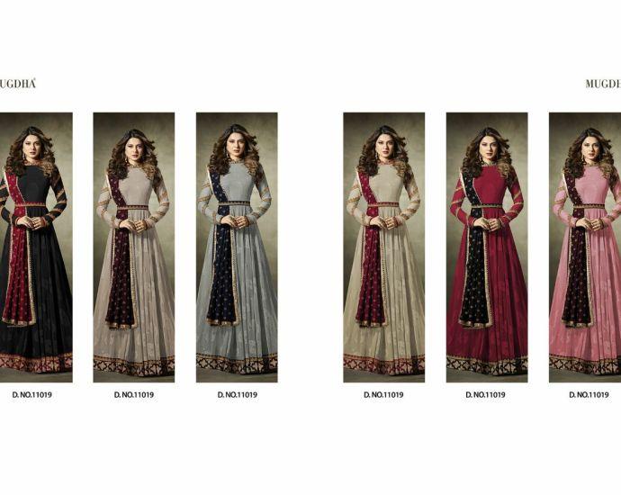 Mugdha Premium Designer Anarkali Suits 11019 Color Edition