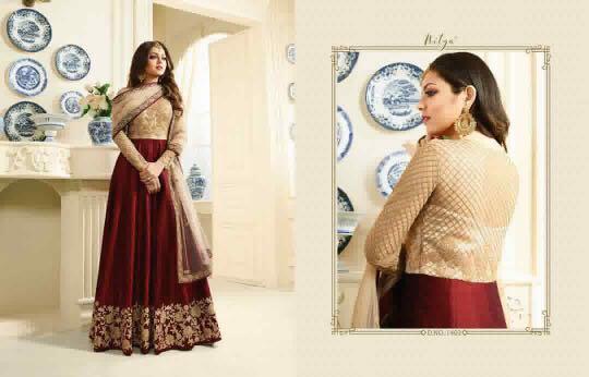 Nitya Floor Length Anarkali Suit-1403