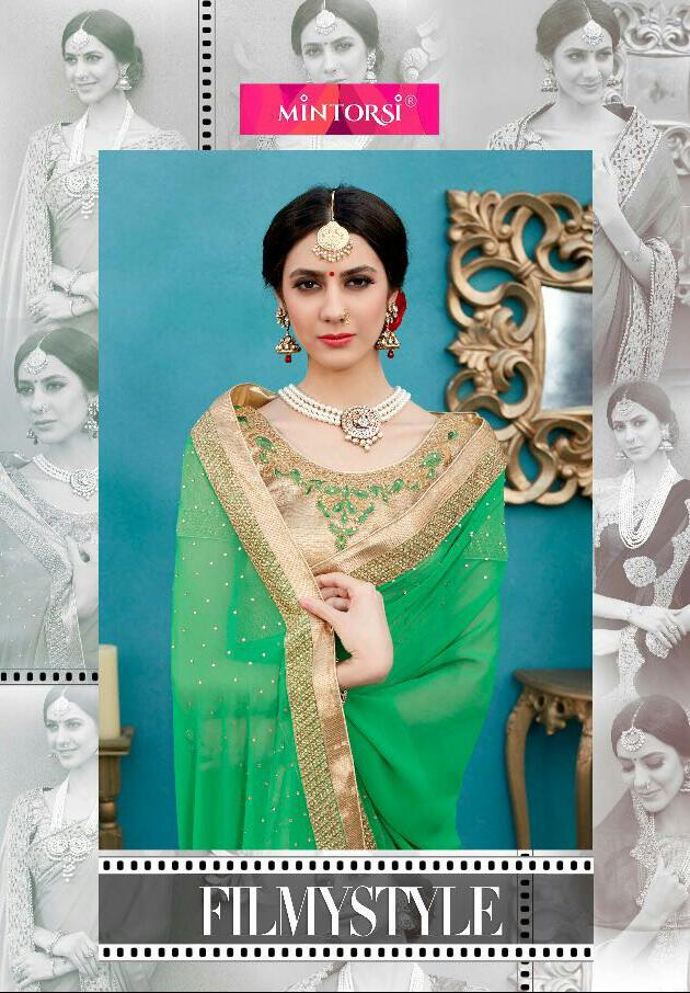 Shop Mintorsi Designer Sarees Online Collection