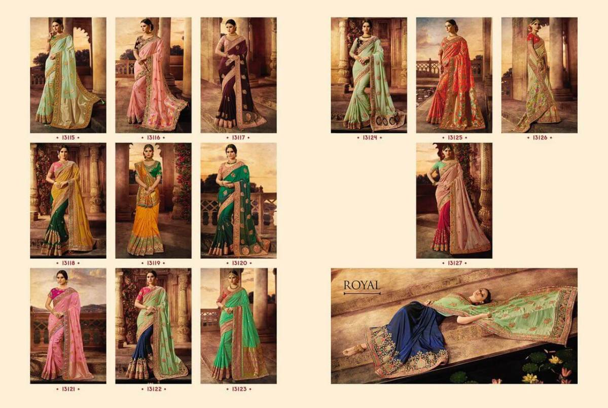 Shop Virasat 31 Royal Bridal Sarees Online